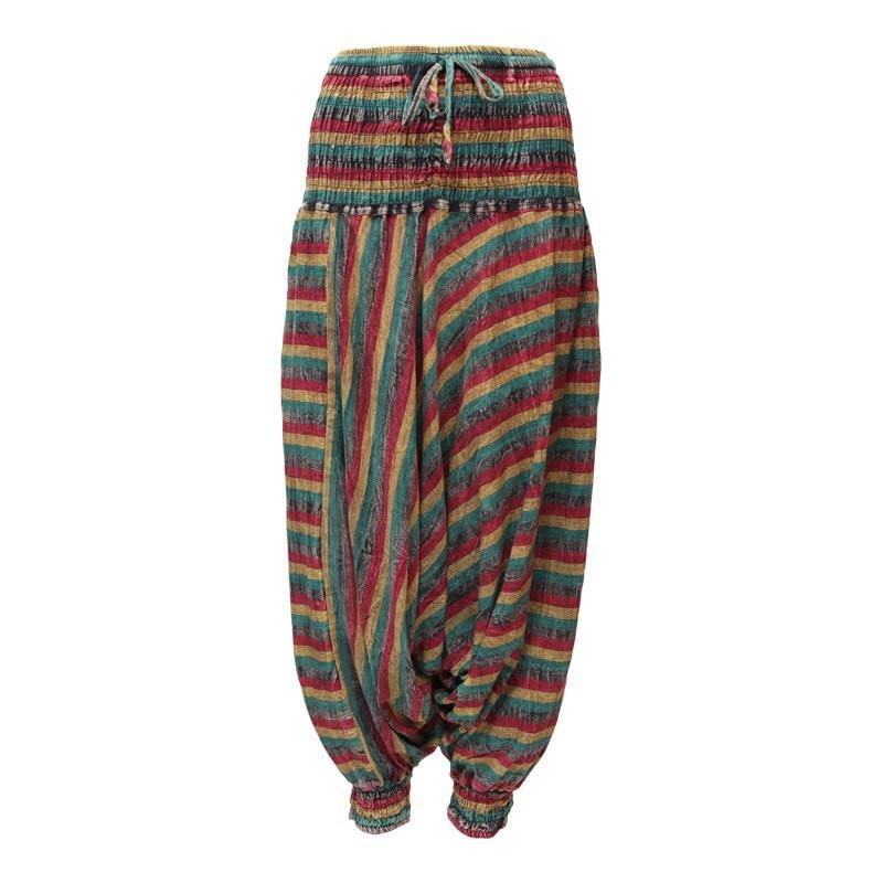 Men's Rasta Low Harem Pants