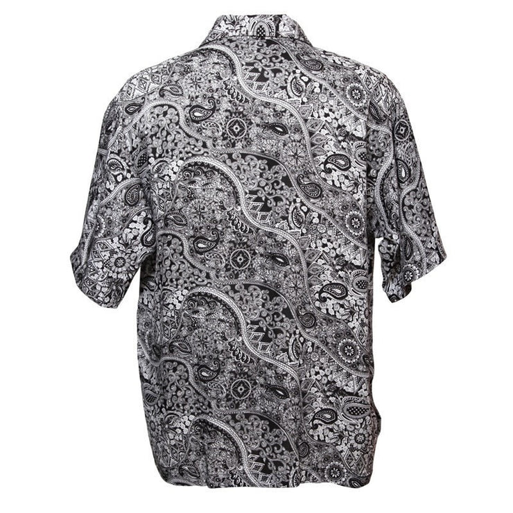 Oversized Paisley Shirt