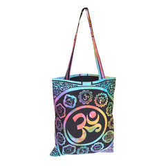Tie Dye Om Shopping  Bag