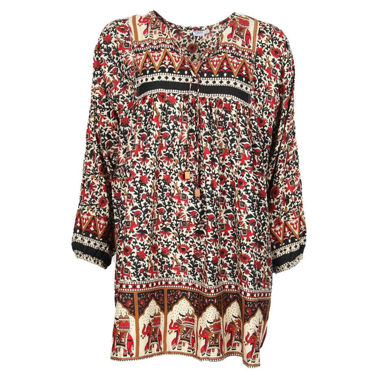Floral Indian Tunic