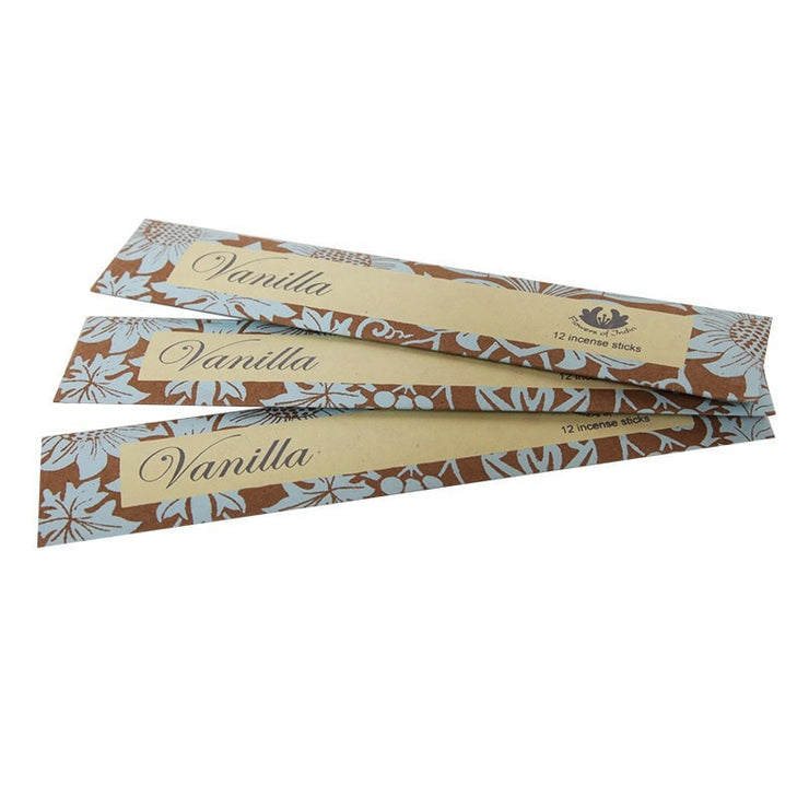 Handmade Fair Trade Incense Sticks Vanilla Scented