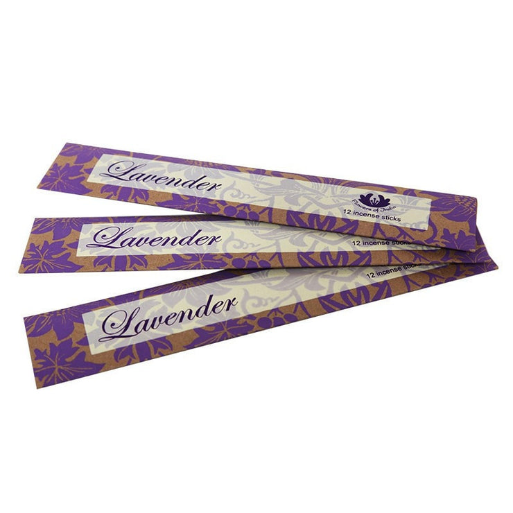 Handmade Fair Trade Incense Sticks Lavender Scented