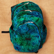 Tie Dye Cotton Velour Backpack