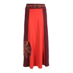 Boho Long Cotton Skirt