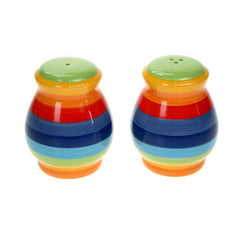 Fair Trade Rainbow Salt and Pepper Set