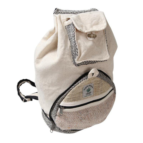 Men's Foldable Hemp Backpack