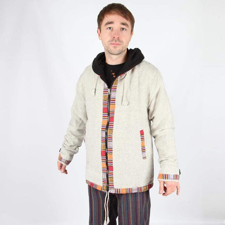 Men's Woven Gheri Cotton Coat..
