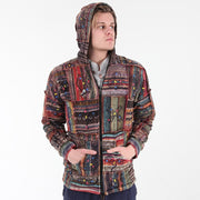 Painted Gheri Patchwork Jacket..