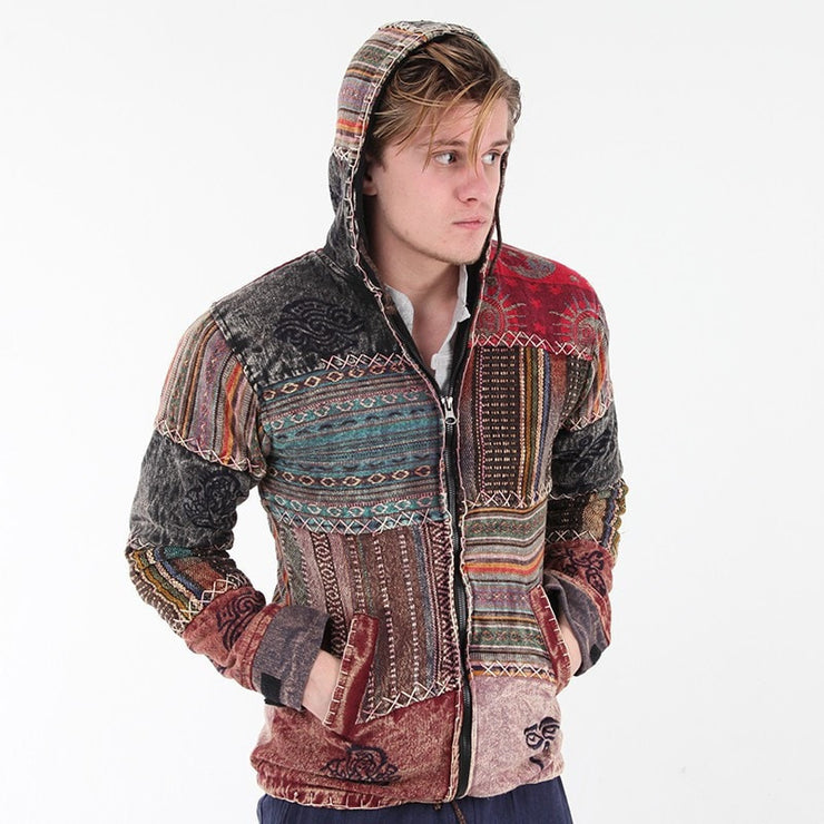 Men's Gheri Patchwork Lined Jacket