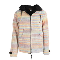 Colourful Wool & Cotton Mix Jacket