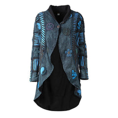 Peace Ripped Pixie Waterfall Jacket