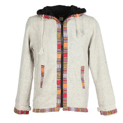 Woven Gheri Cotton Coat