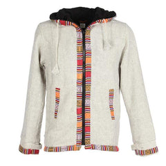 Men's Woven Gheri Cotton Coat