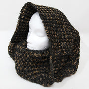 Oversized Chunky Knit Circle Scarf..
