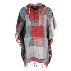 Lightweight Patchwork Poncho