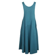 Long Dungarees Dress