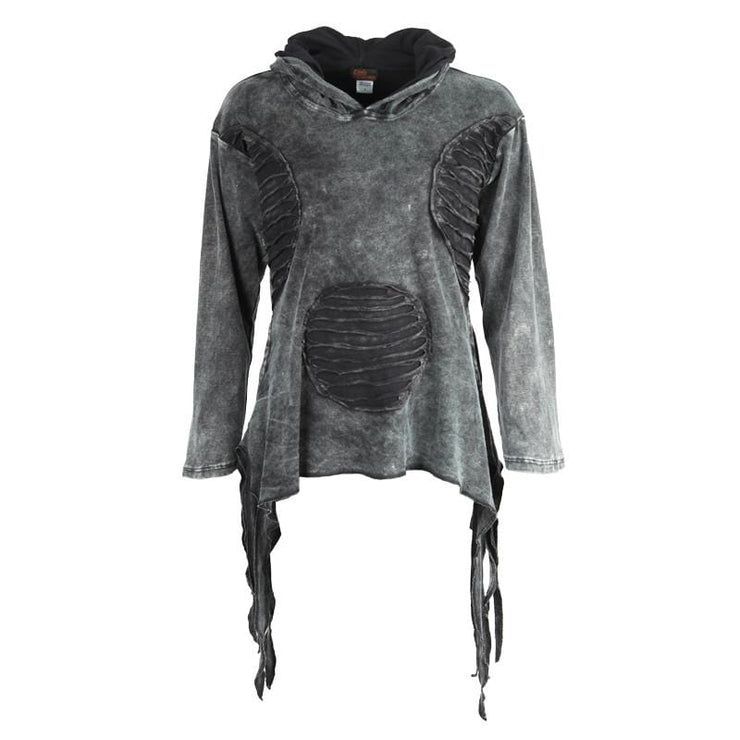 Oversized Pixie Pullover Hooded Top
