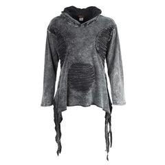 Men's Oversized Pixie Pullover Hooded Top