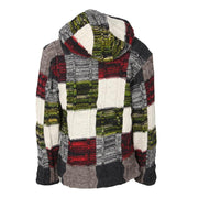 Woollen Patchwork Coat