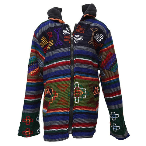 Embroidered Kid's Hoodie Jacket