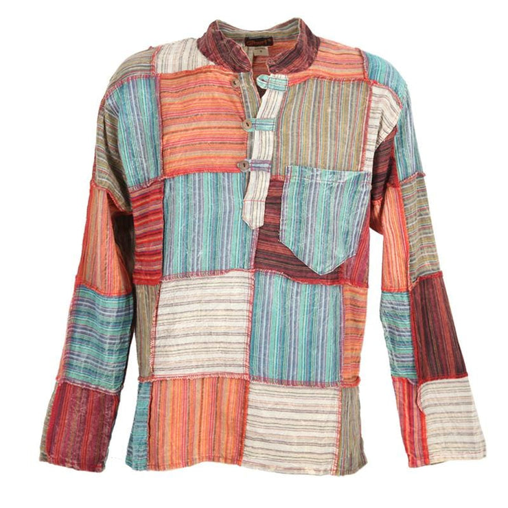 Patchwork Kurta Shirt