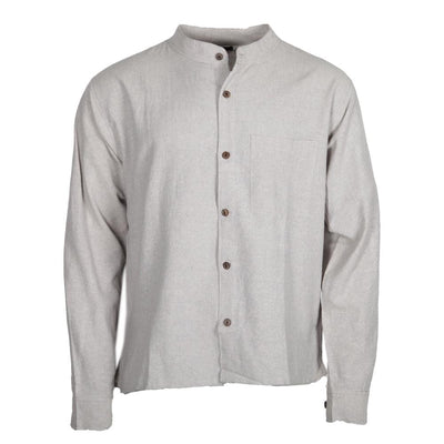 Hemp Mix Button Through Shirt