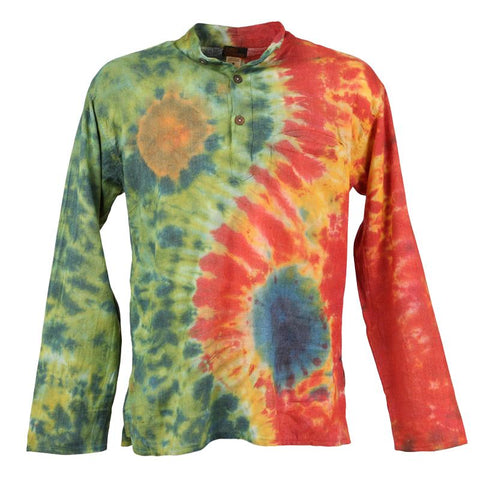 Ying And Yang Tie Dye Shirt
