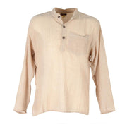 Men's Hemp Kurta Shirt