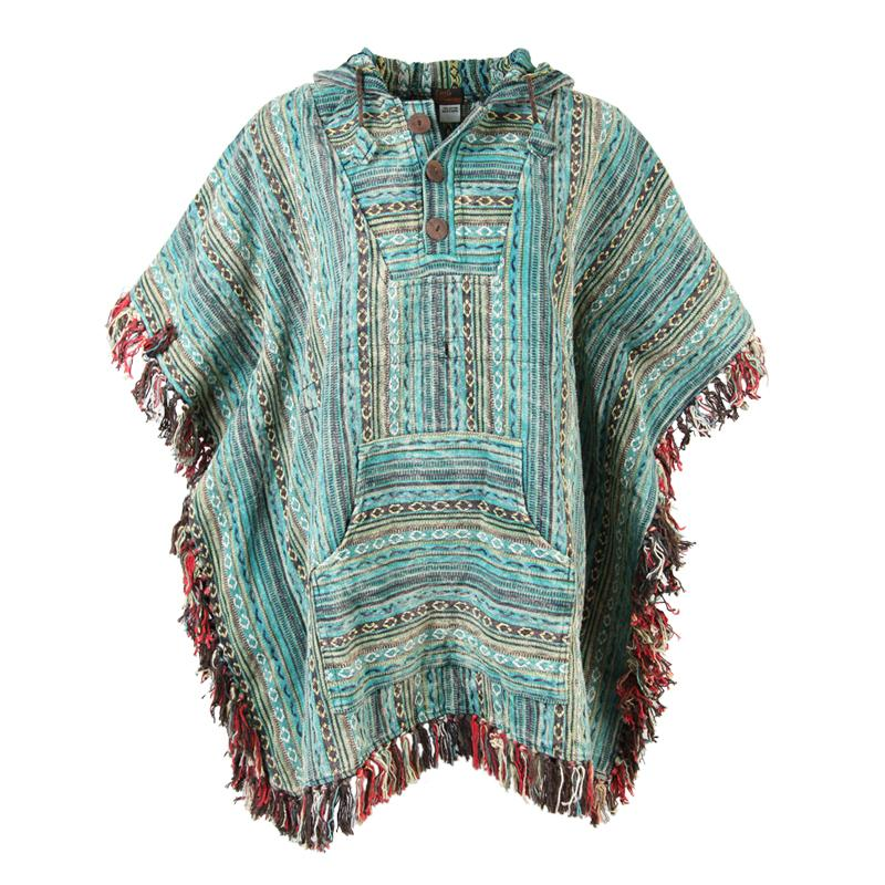 Gheri Cotton Poncho