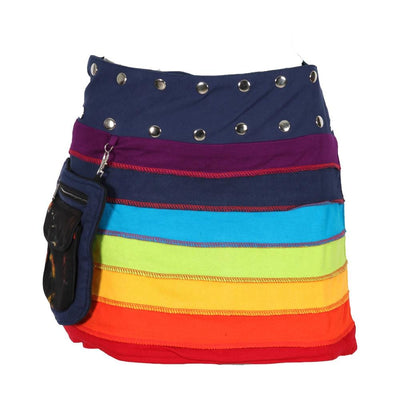 Rainbow Popper Skirt