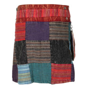 Patchwork Popper Skirt