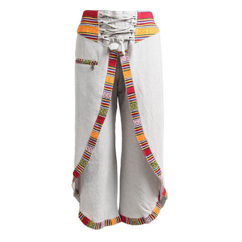 Hemp Wrap Around Trousers