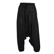 Low Cotton Jogger Harem Pants