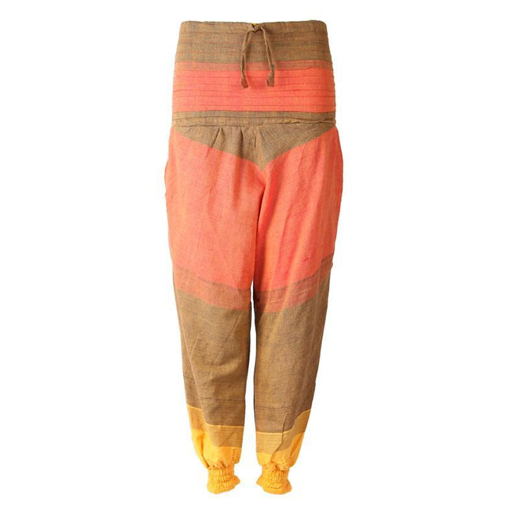 Drop Crotch Cotton Joggers..