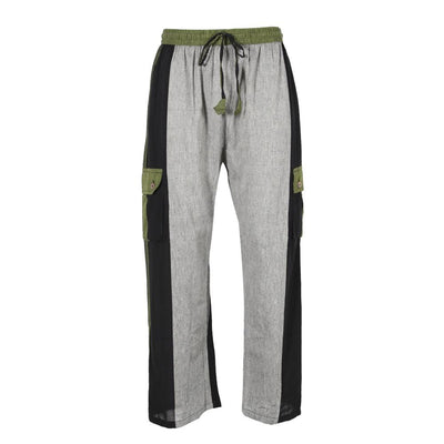 Lightweight Cotton Cargo Trousers