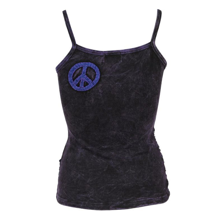 Ripped Peace Cami Top