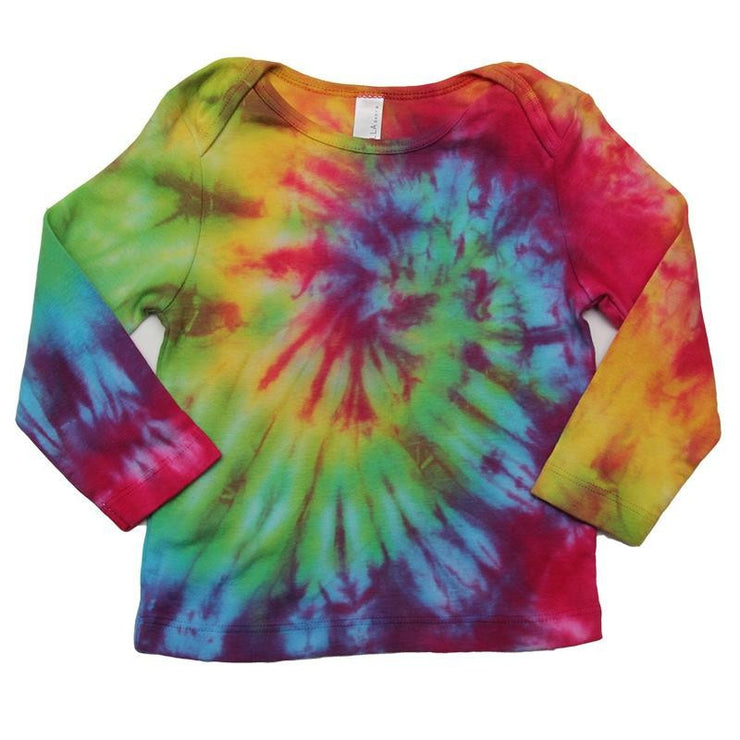 Tie Dye Baby Long Sleeve T-Shirt