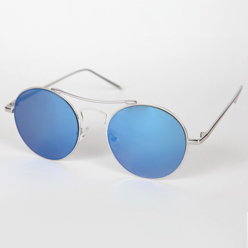 Men's Round High Bar Sunglasses