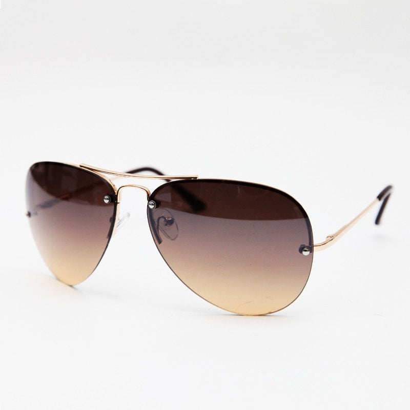 Ombre Aviator Sunglasses
