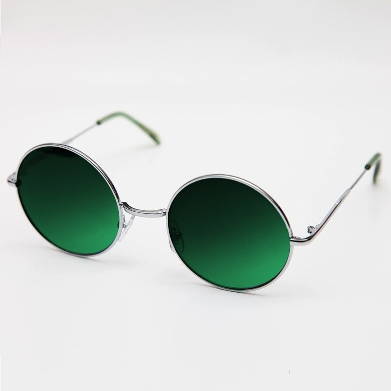 Men's Round Ombre Sunglasses