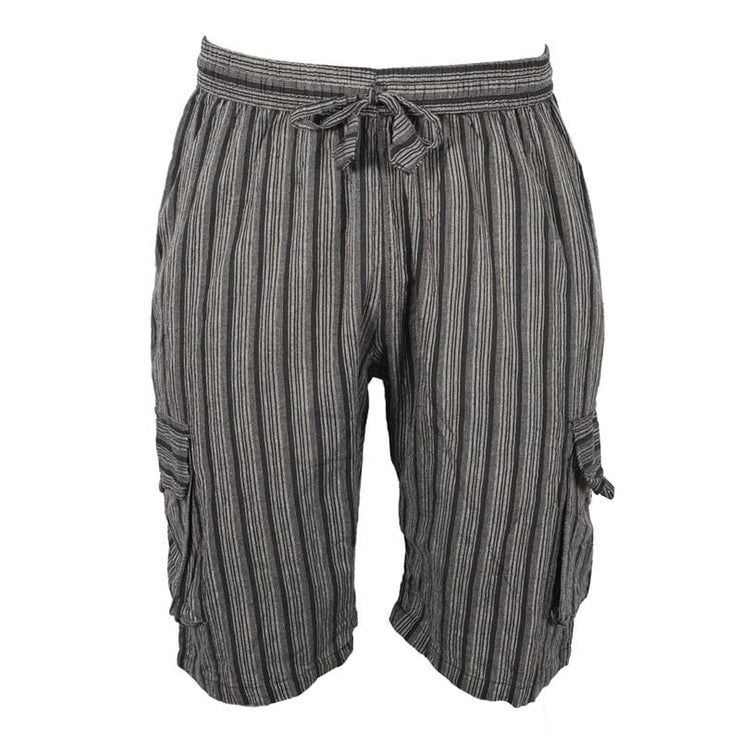 Striped Cargo Shorts