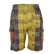 Men's Printed Cargo Shorts