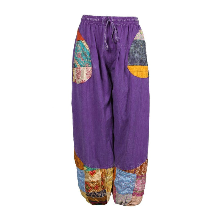 Sari Patch Harem Joggers