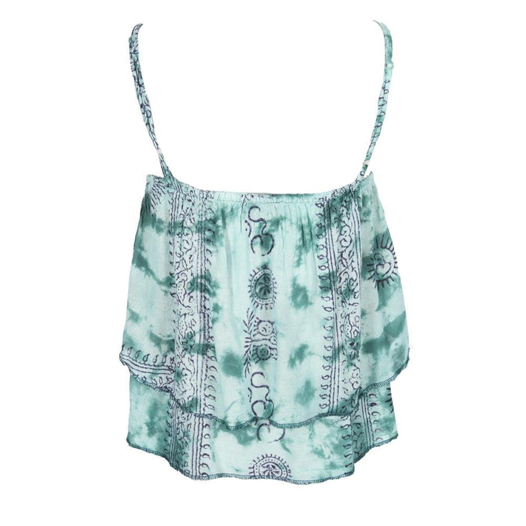 Tie Dye Layered Cami Top