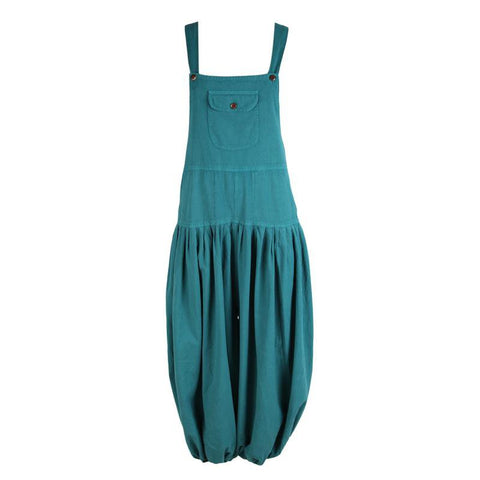Plain Cotton Genie Dungarees