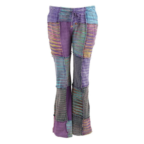 Cotton Patchwork Flares