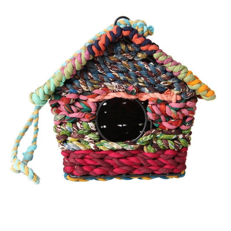 Nesting Boxes made from recycled fabric