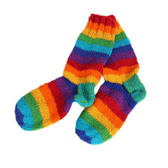 Thick Wool Rainbow Socks