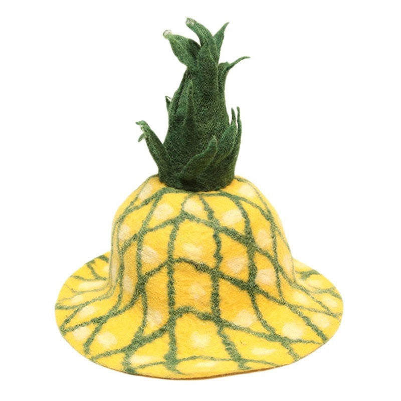 Pineapple Festival Felt Hat