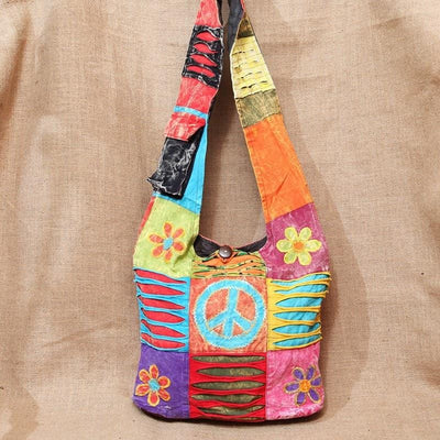 Summer of Love Slouch Cross Body Bag